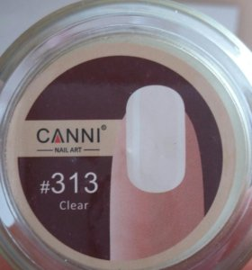 UV Гели для наращивания ногтей фирмы canni