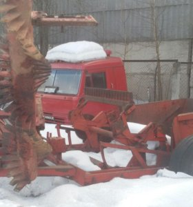 Камне уборочная машина