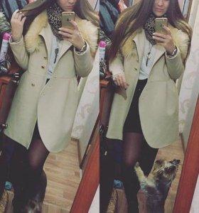 Пальто женское тёплое зима/осень
