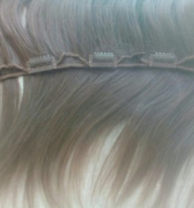 Волосы на заколках 43см