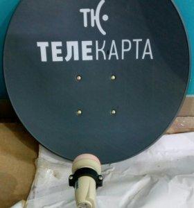 Спутниковый комплект Телекарта