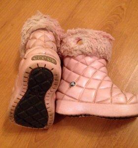 Резиновые сапоги детские Crocs