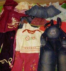 Одежда для девочки от 0 до 5 лет.