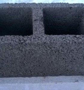 Блоки керамзитные 2-х пустотные