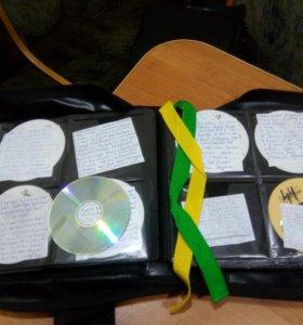 Сумка для 300 дисков(диджейская)