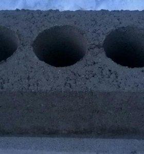 Блоки керамзитные 3-х пустотные