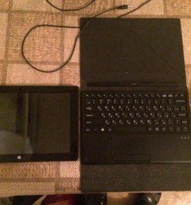 Продаю планшет с клавиатурой DEXP URSUS GX110