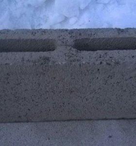 Блоки керамзитные ,перегородочные