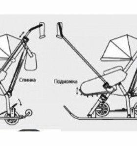 Санки-коляска Ника7