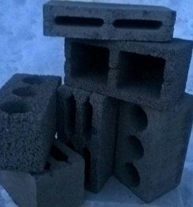 Блоки керамзитные, пустотные