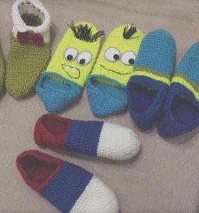 Тапочки носочками