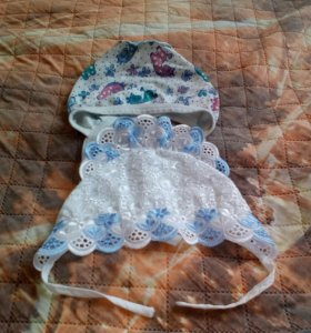 Чепчики на младенца