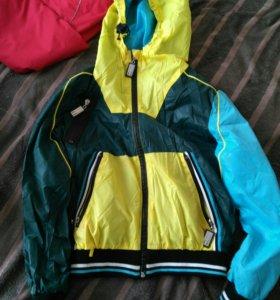 Куртки ветровки Орби на мальчика