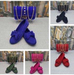 Комплект обувь+сумка