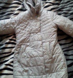 Пальто зимнее для девочки на 6-7лет