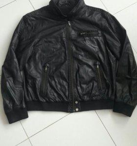 Куртка натур кожа размер 2XL