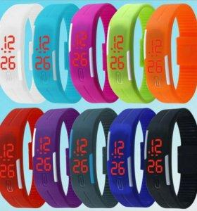 Новые светодиодные часы