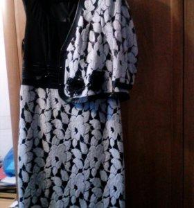 Нарядное платье с жакетом