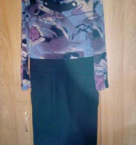 4 трикотажных платья