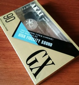 Аудио кассета AKAI в упаковке