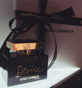 💟Dolce&Gabbana The One Desire lady💟