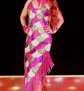 Платье латино , восток, сальса , бачата.