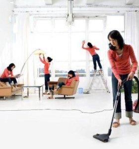 Уборка квартир, коттеджей, офисов, домов.