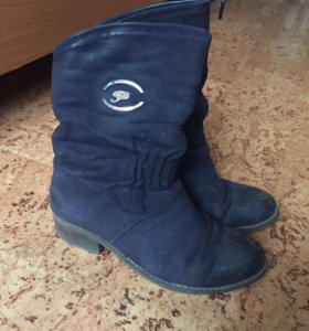 Зимние ботиночки с Нубука