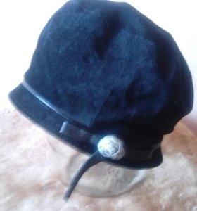 Замшевая шляпка новая