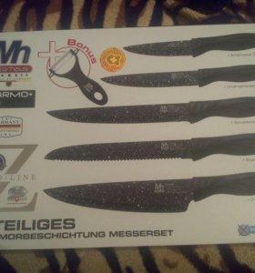 Набор кухонных ножей керамо металические