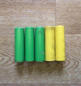 Аккумуляторы 18650 Sony
