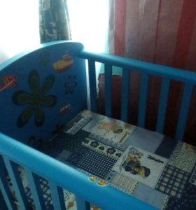 Продам детскую кроватку Ikea