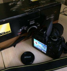 Фотоаппарат зеркальный Nikon3100