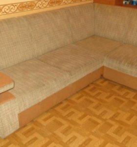 Диван (угловой) и кресло Морозов мебель