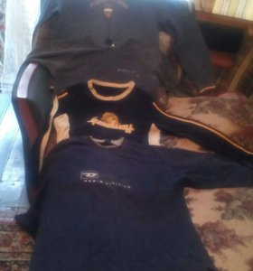 Мужские кофты и рубашки