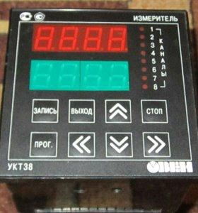 УКТ-38 измеритель температуры 8 канальный