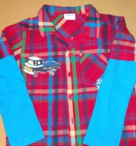 Рубашка х!б рост 110-116 см