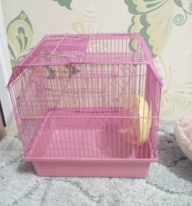 Клетка для мелких грызунов(хомяки,мышки)