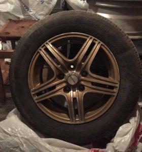 Шины Michelin ES R15 на литых дисках