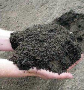 Плодородный грунт, чернозем для парников