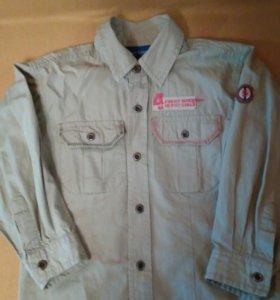 Рубашка х!б, рост 110-116 см