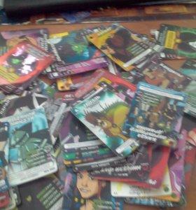 Карты черепашки ниндзя 93 карты