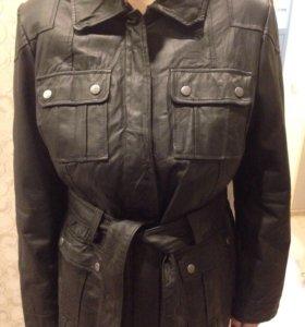 Новая куртка из кожи