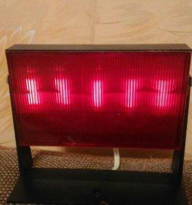 Лампа красная для проявки фотопленок.