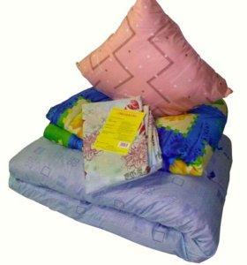Комплект (для хостелов) матрац +одеяло+подушка