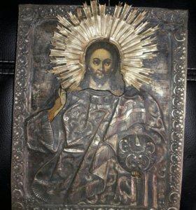 Икона Вседержитель 19 век.