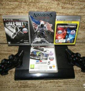 PS3 500GB 100+ игр