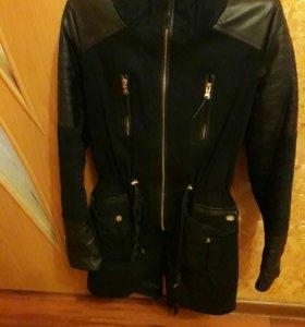 Парка зимняя xs. Куртка весенняя спортивная размер
