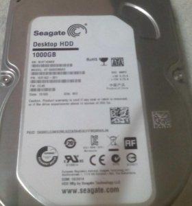 Встроенный жесткий диск 1000GB