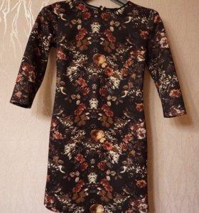 Платье короткое легкое